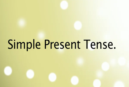 Grammar-Simple-present-tense