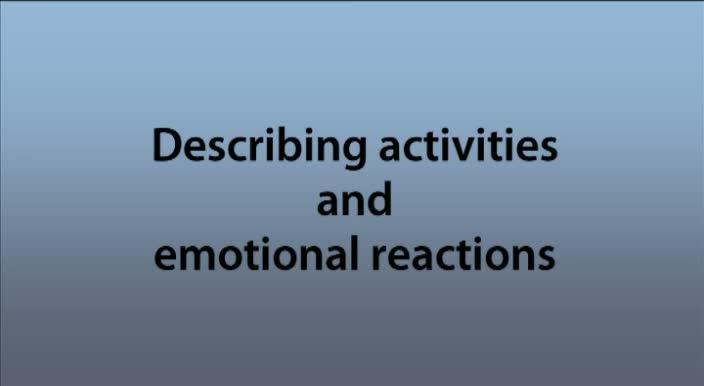 Phonetics-Describing-activities-and-emotional-reactions