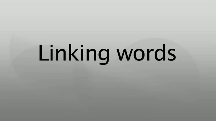 Linking-words