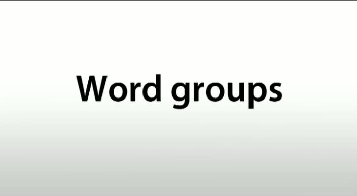Phonetics-Word-groups